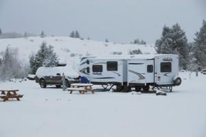 Snowy Trailer